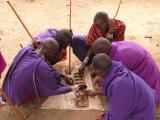 Village Men playing game
