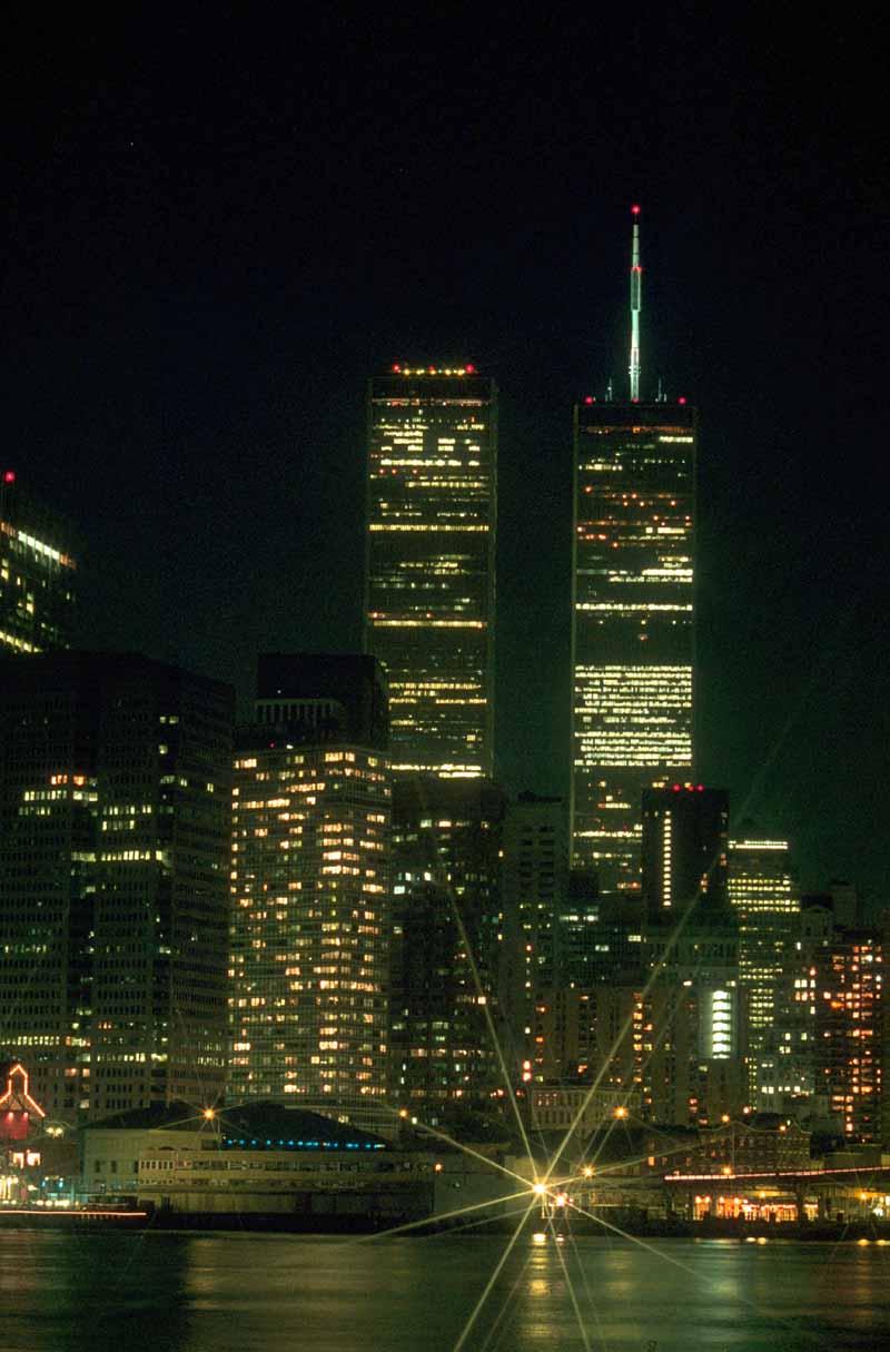 WTC at Night - Skyscra...