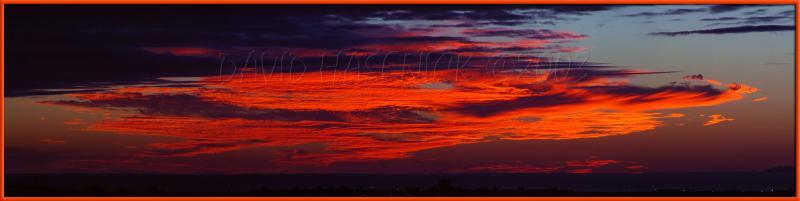 Flying Dragon Cloud Sunset