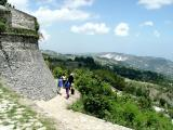 Walls of Fort Jacques