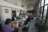 Köprülü kulliye volunteers at work