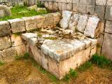 Noble chair in Temple of Warriors