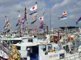 Itoman fishing fleet at Lunar New Year