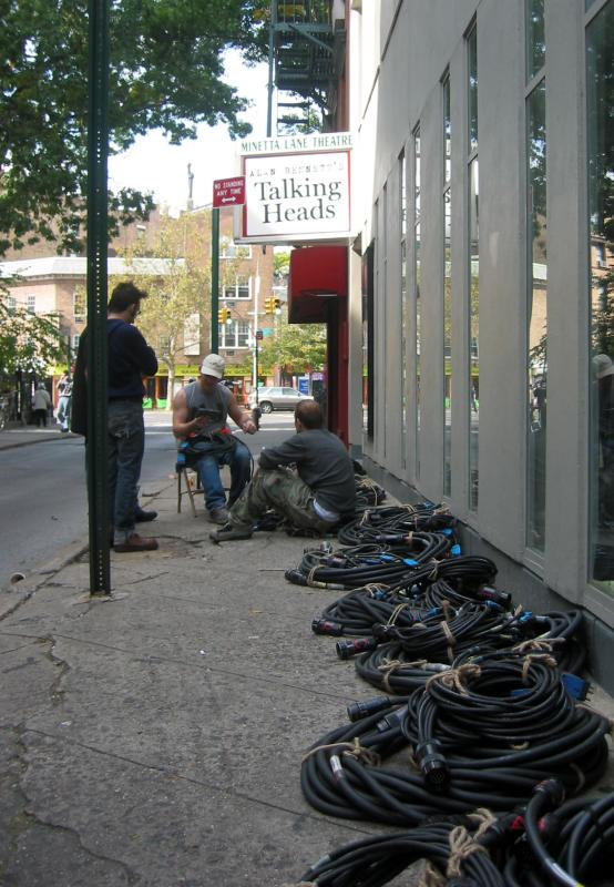 Talking Heads at the Minetta Lane Theatre