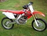 CRF250R Test  Bike