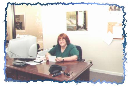 Lori at work