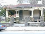 April 2003.  The porch is almost whole.