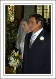 The bride's father