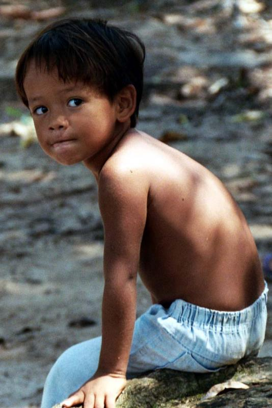 Little Boy from the Amazon
