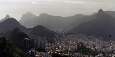 Rio de Janeiro as seen from Sugar Loaf