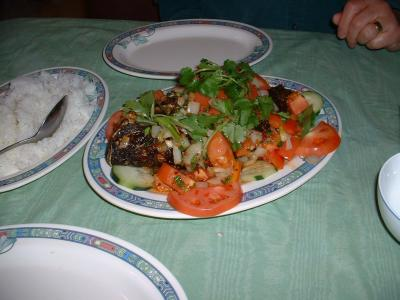 Tilapia: Hot sweet  sour