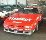 Lorenzo Lamas 87 Shelby Z Celebrity Race Car