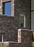 Stone and windows