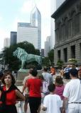 Art Institute lion