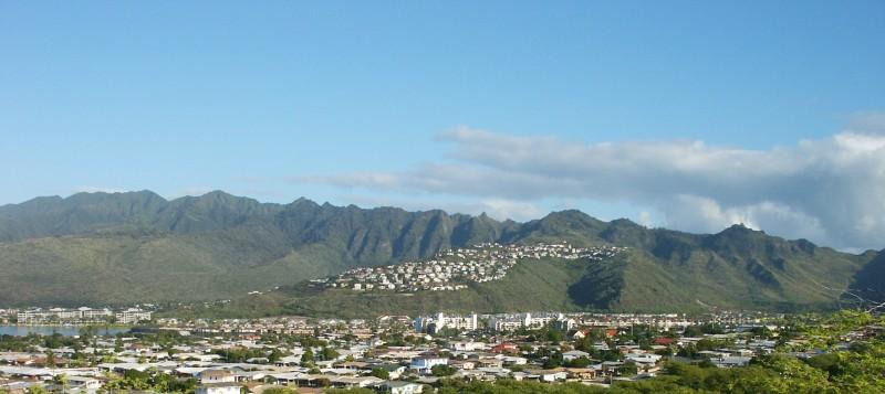 Mountains of East Honolulu