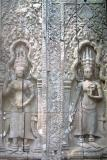 Apsara carvings