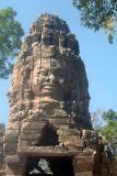 Bayon face at gate