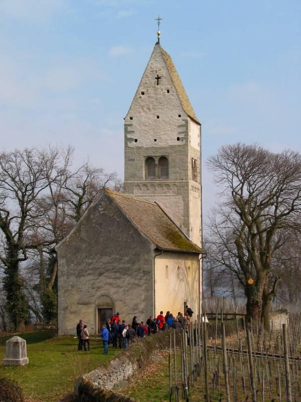 Ufenau, church