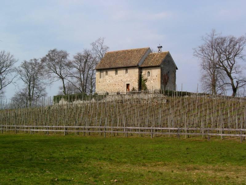 Ufenau, chapel