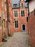 Beguinage in Leuven in color