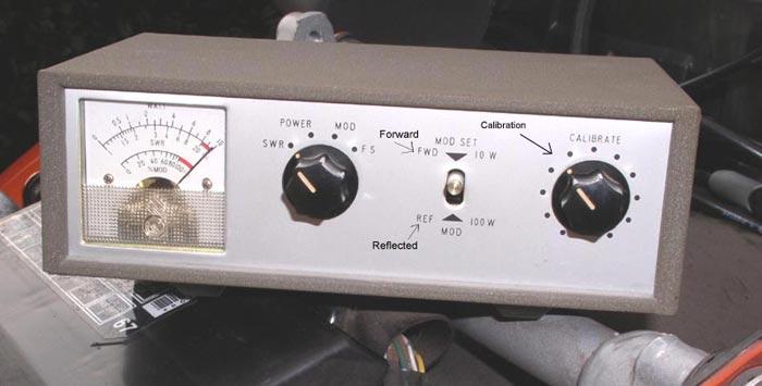 Photo of SWR meter