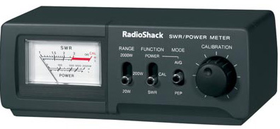 Radio Shack SWR meter
