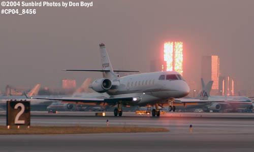 Hendricks Investment Holdings LLCs Israeli Aircraft Industries Gulfstream 200 N712QS aviation stock photo #8456