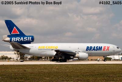 Brasmex DC10-30(F) N478CT (ex N109WA and N1859U) cargo airline aviation stock photo #4102