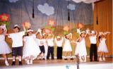 School Children Perform for Parents and Friends