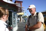 Lynda and John at Fisherman's Wharf