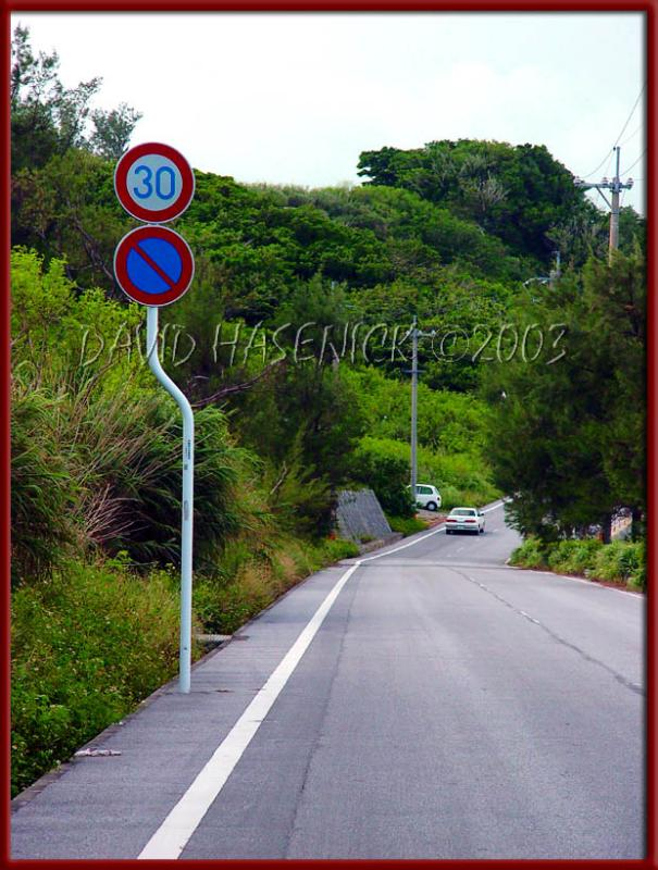 Speed Limit Sign... (not straight, but why?)