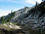 Rocky Basin Below Summit