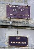 Sign-post in Soulac