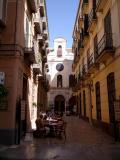 Malaga Street Scene.