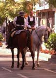 Men On Horseback.