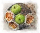 Appels and roses