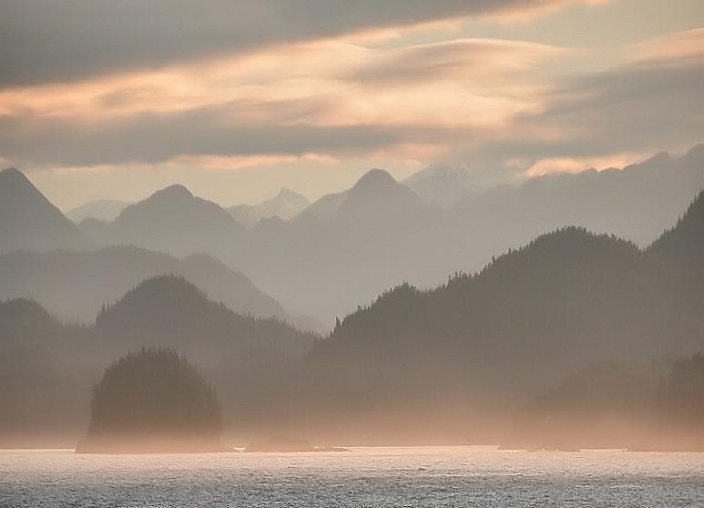 Sunrise over Smith Sound