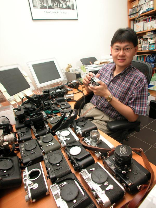 Joseph Yao and toys