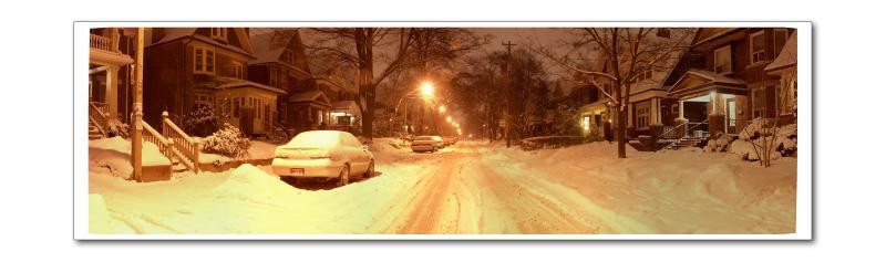 Snowy Night On Grenadier