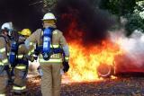 Coram Rd. Vehicle Fire (Shelton) 10/12/04