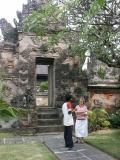 In grounds of Denpasar palace