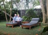At our bungalow at the Chedi