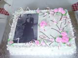 Gâteau en hommage à Émilie (souper méchoui)