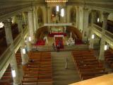 Vue de la balcon de l'Église