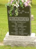 Pierre tombale d'Ovila Pronovost, 2