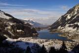 From the Brünig towards Luzern