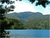 Had a boat trip on Lake Tarawera and stopped for lunch at Rapatu Bay and walked the track to Lake Rotomahana where this photo is taken