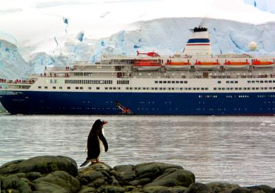 Entering Paradise, Antarctica, 2004