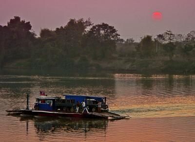 Mekong Car Ferry, near Khone Island, Laos, 2005