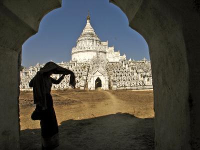 Hsinbyume Pagoda, Mingun, Myanmar, 2005